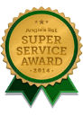 Angie's List Super Service Award 2014 badge